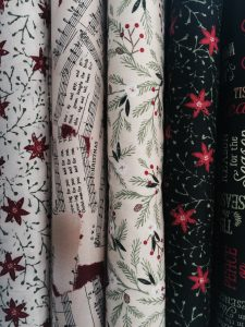 New Christmas Fabric has arrived!